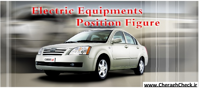 Chery A5 Electric Equipments Position Figure-1-28-jpg