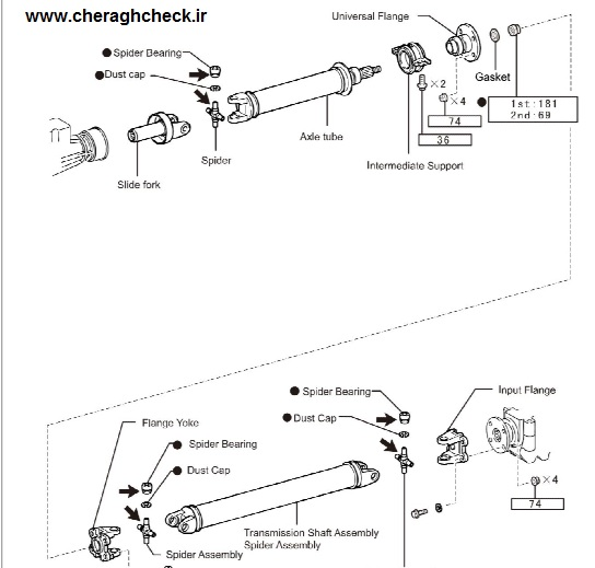 Briliance H2L Repair Manual Propeller Shaft H2LRM2B21-1-jpg
