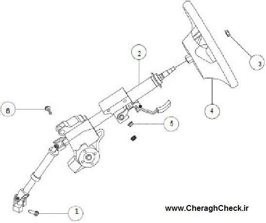 Changan CS35 Steering system-1-jpg